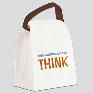 think lite Canvas Lunch Bag